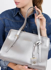 Gray - Satchel - Bag