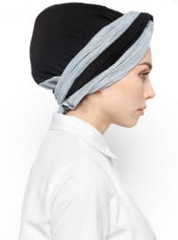 Blue - Black - Simple - Bonnet