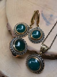Green - Accessories Set