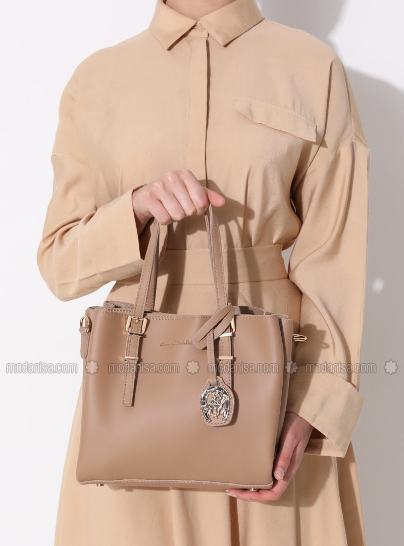 Satchel - Camel - Crossbody - Bag