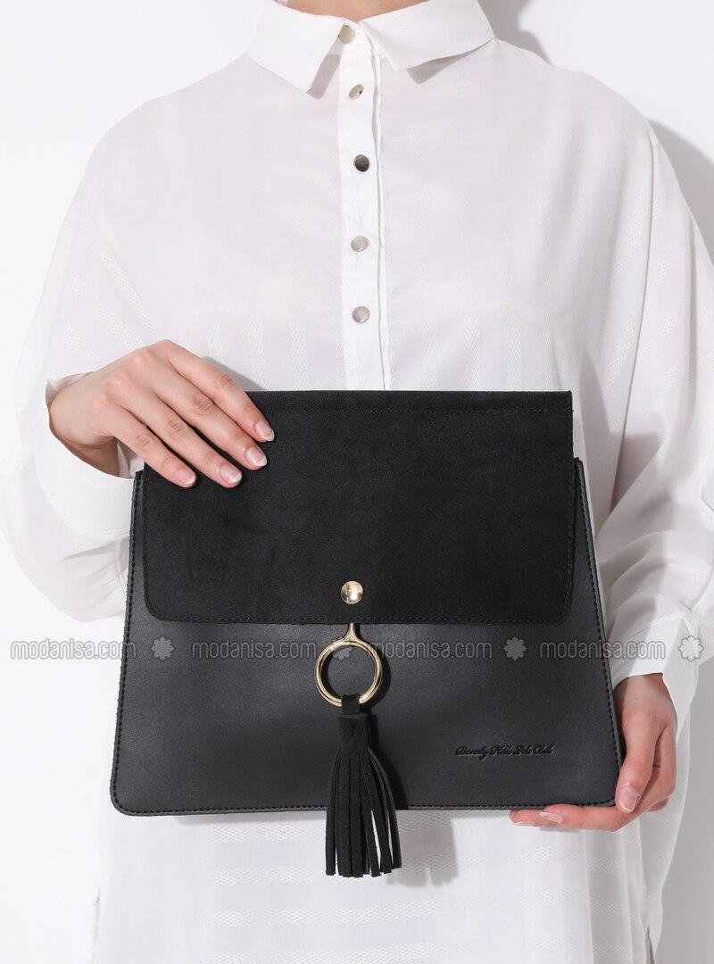 Black - Crossbody - Bag