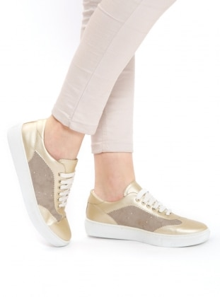 Gold - Sport - Casual - Shoes