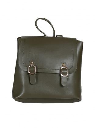 Green - Backpack - Satchel - Bag
