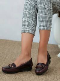 Ayakkabı - Bordo - Ayakkabı Havuzu