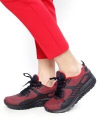 Spor Ayakkabı - Lacivert Kırmızı - Slazenger