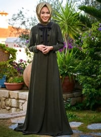 Şili Elbise - Zümrüt Yeşili - Minel Aşk