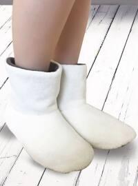 Patik Bot Çorap - Ekru - ANIL