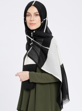 Multi - Striped - Shawl