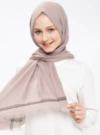 Minc - Plain - Cotton - Shawl