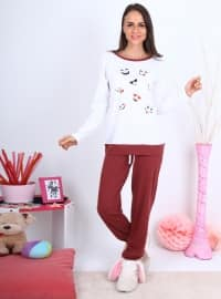 Pijama - Beyaz - Meliana