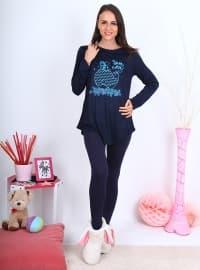 Pijama - Lacivert - Meliana