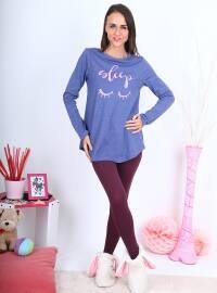 Pijama - Mavi - Meliana
