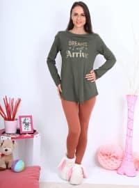 Pijama - Yeşil - Meliana