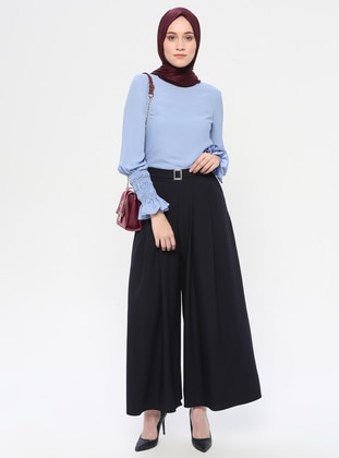 Navy Blue - Culottes