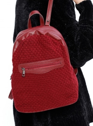 Backpack – Maroon – Bag – Housebags
