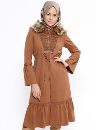 Tan - Fully Lined - Coat