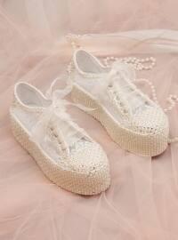 Abiye Ayakkabı - Beyaz - ROVIGO
