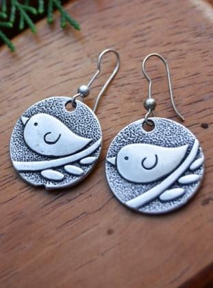 Küpe - Gümüş - Stoneage