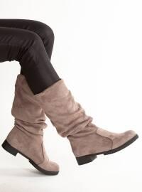 Çizme - Vizon - MODA AYAKKABI