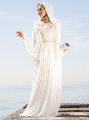 Long Sleeve Muslim Evening Dresses | Modanisa