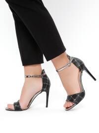 Black - High Heel - Sandal - Shoes