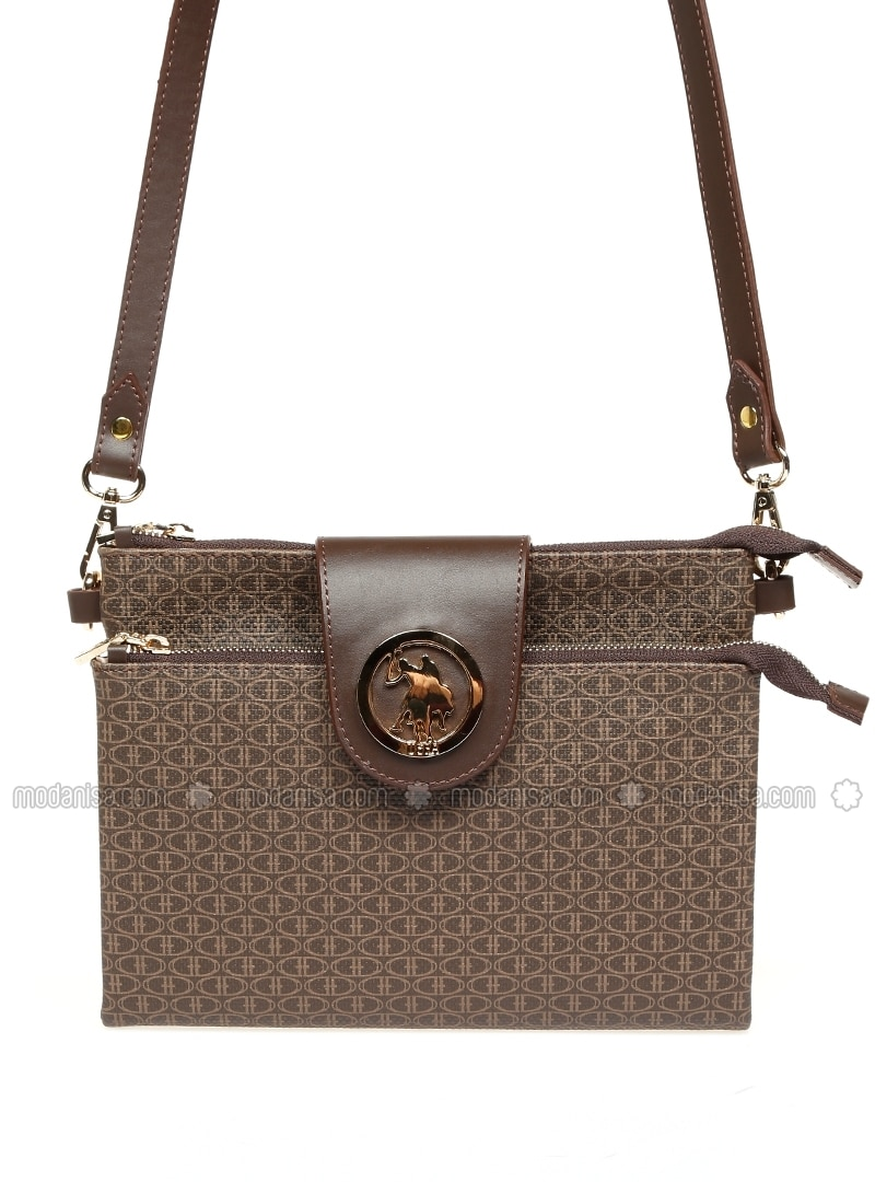 166dce256624 Brown - Satchel - Crossbody - Bag