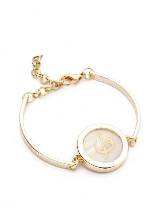 Ecru - Gold - Bracelet - Modex