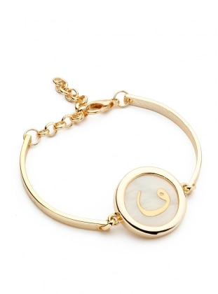 Ecru - Gold - Bracelet - Modex