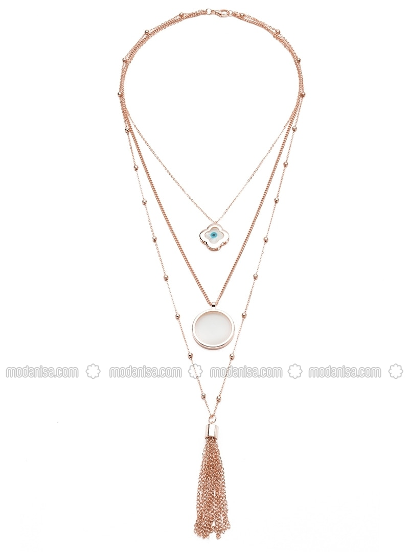 Powder - Gold - Necklace