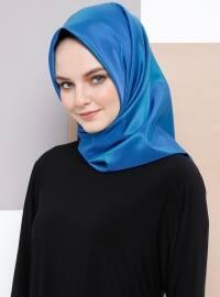 Tafta Eşarp - Mavi - Armine Eşarp