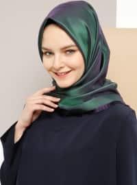 Armine Eşarp Tafta Eşarp - Yeşil - Armine Eşarp