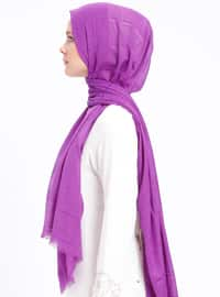 Purple - Plaid - Shawl