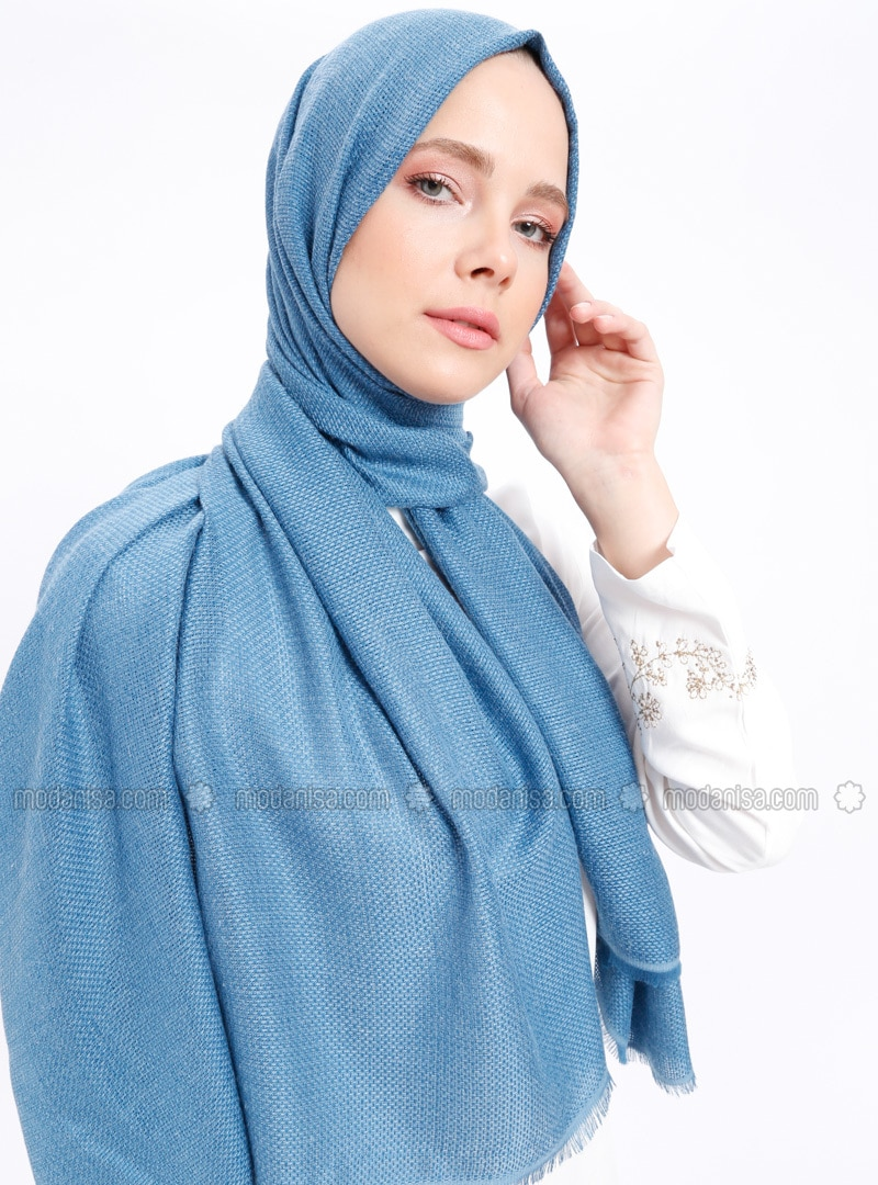 Petrol - Plain - Shawl