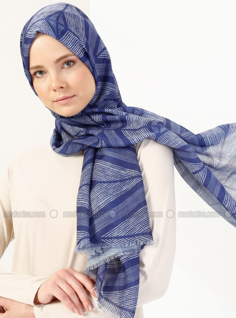Multi - Printed - Viscose - Shawl