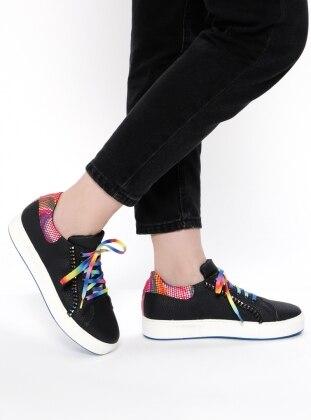 Sitill Spor Ayakkabı - Siyah