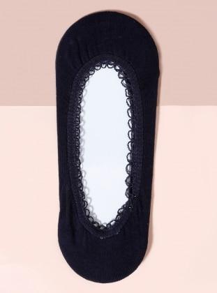 Navy Blue - Socks - Mim çorap
