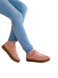 Spor Ayakkabı - Pudra - MODA AYAKKABI