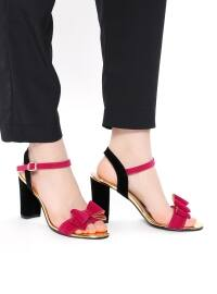 Topuklu Ayakkabı - Fuşya - Sitill