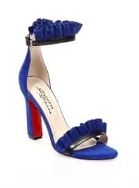 Topuklu Ayakkabı - Saks - Sitill