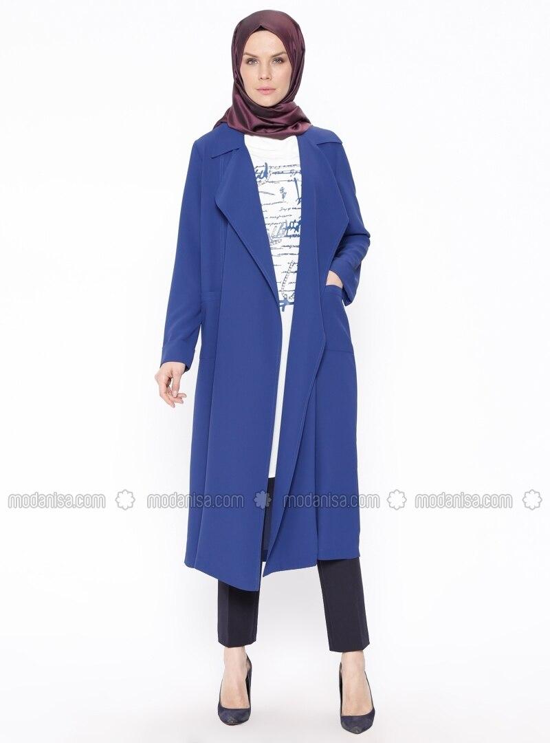 Ecru - Saxe - Multi - Unlined - Suit