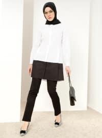Refka Klasik Pantolon - Siyah - Refka