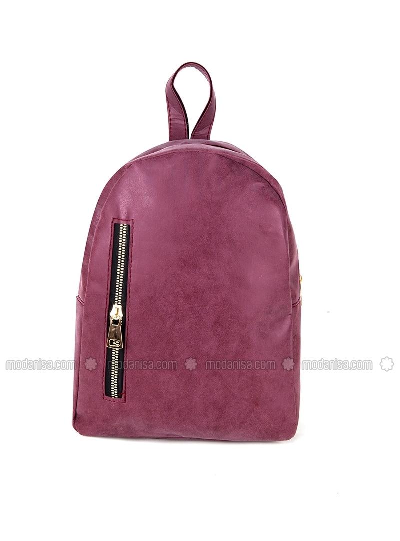 Pink Maroon And Grey Backpack- Fenix Toulouse Handball bc144f49ea73a