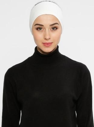 Ecru - Viscose - Bonnet