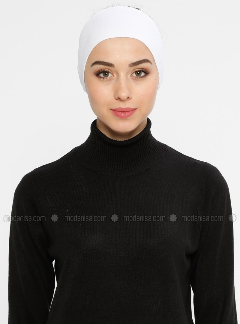 White - Viscose - Bonnet