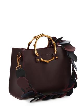 Maroon - Satchel - Crossbody - Bag