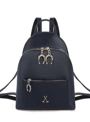 Navy Blue - Backpack - Bag
