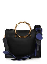 Black - Satchel - Crossbody - Bag