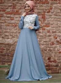 Kot Elbise - Mavi - Cool Vera