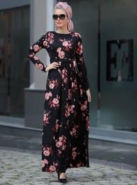 Gonca Elbise - Pudra - Selma Sarı Design