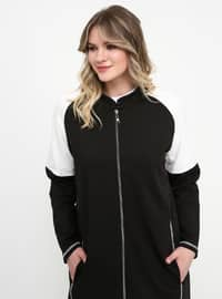 Black - Plus Size Tracksuit